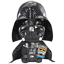 Buy Star Wars Episode VII: The Force Awakens Super Deluxe Talking Darth Vader Soft Toy Online at johnlewis.com