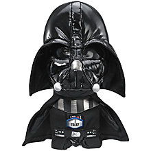 Buy Star Wars Episode VII: The Force Awakens Talking Plush Darth Vader Soft Toy Online at johnlewis.com