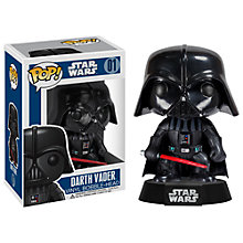 Buy Star Wars Episode VII: The Force Awakens Pop! Vinyl Bobble Head, Darth Vader Online at johnlewis.com