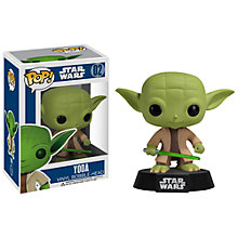 Buy Star Wars Episode VII: The Force Awakens Pop! Vinyl Bobble Head, Yoda Online at johnlewis.com
