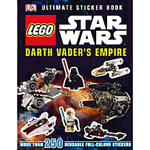 Buy LEGO Star Wars Darth Vader's Empire Sticker Book Online at johnlewis.com
