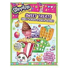 Buy Shopkins Sweet Treats Smell-icious Sticker Book Online at johnlewis.com