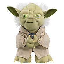 Buy Star Wars Episode VII: The Force Awakens Talking Yoda Plush Soft Toy Online at johnlewis.com