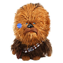 Buy Star Wars Episode VII: The Force Awakens Super Deluxe Talking Chewbacca Soft Toy Online at johnlewis.com