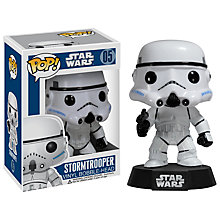 Buy Star Wars Episode VII: The Force Awakens Pop! Vinyl Bobble Head, Stormtrooper Online at johnlewis.com