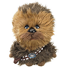 Buy Star Wars Episode VII: The Force Awakens Talking Plush Chewbacca Soft Toy Online at johnlewis.com