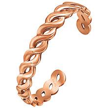 Buy Folli Follie Apeiron Bangle, Rose Gold Online at johnlewis.com
