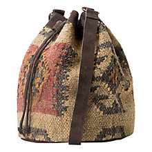 Buy Mango Ethnic Bucket Bag, Multi Online at johnlewis.com