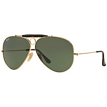 Buy Ray-Ban RB3138 La Havana Shooter Aviator Sunglasses Online at johnlewis.com