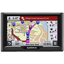 Buy Garmin Nuvi 68LM Sat Nav with Lifetime Map Updates, Full Europe Online at johnlewis.com