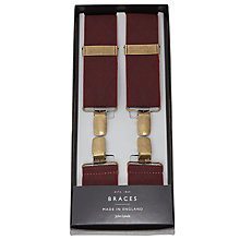 Buy John Lewis Diamond Braces, One Size, Wine Online at johnlewis.com