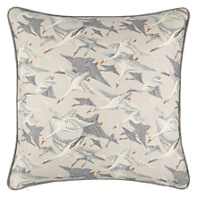 Buy Mulberry Home Wild Geese Linen Cushion Online at johnlewis.com