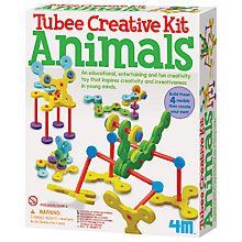 Buy Tubee Animals Creative Kit Online at johnlewis.com