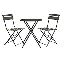 Buy House by John Lewis Brighton Bistro Outdoor Table & Chair Set Online at johnlewis.com