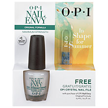 Buy OPI Nail Envy Stengthener & File Exclusive Gift Set Online at johnlewis.com