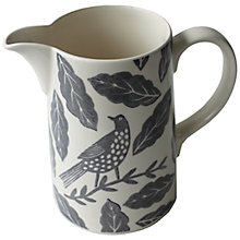 Buy Hinchcliffe & Barber Songbird Jug, Grey Online at johnlewis.com