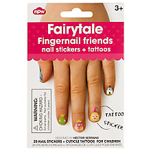 Buy NPW Fairytale Fingernail Friends Nail Stickers Online at johnlewis.com