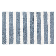 Buy John Lewis Cotton Stripe Bath Mat Online at johnlewis.com