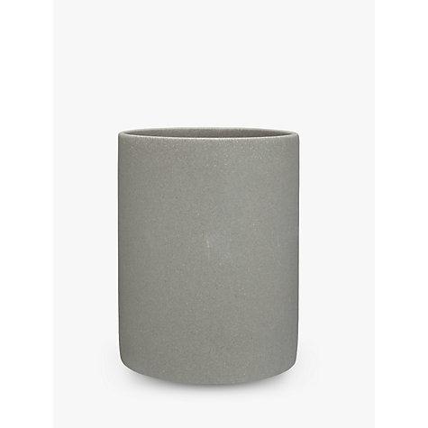 buy john lewis dune bathroom bin grey john lewis. Black Bedroom Furniture Sets. Home Design Ideas
