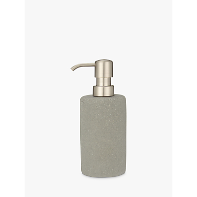 John Lewis Dune Soap Pump, Grey