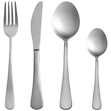 Buy John Lewis Cafe Cutlery Set, 16 Piece Online at johnlewis.com