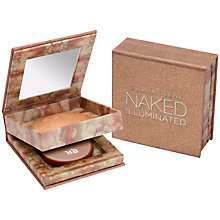 Buy Urban Decay Naked Skin Illuminated Powder Compact, Bronze Online at johnlewis.com