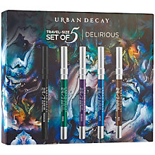 Buy Urban Decay Delirious 24/7 Glide-On Eye Pencil Travel Set Online at johnlewis.com