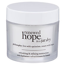 Buy Philosophy Renewed Hope in a Jar Dry Skin Moisturiser, 60ml Online at johnlewis.com