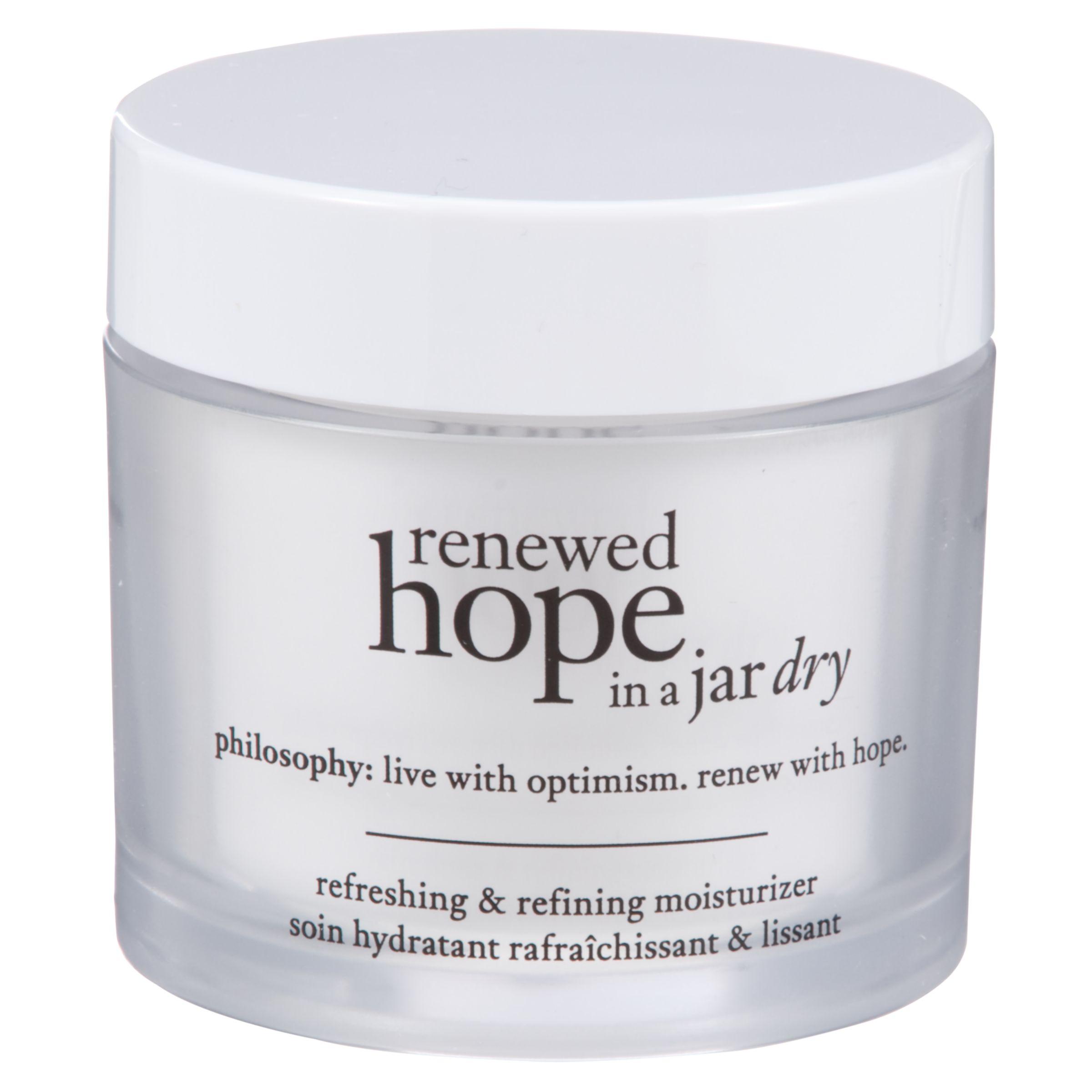 Philosophy Philosophy Renewed Hope in a Jar Dry Skin Moisturiser, 60ml