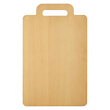 Buy House by John Lewis Chopping Board, Beech Online at johnlewis.com