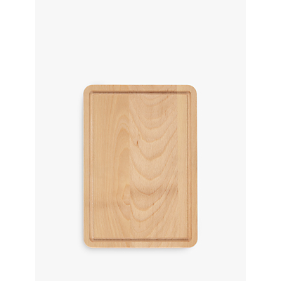 John Lewis Beech Wood Board with Groove