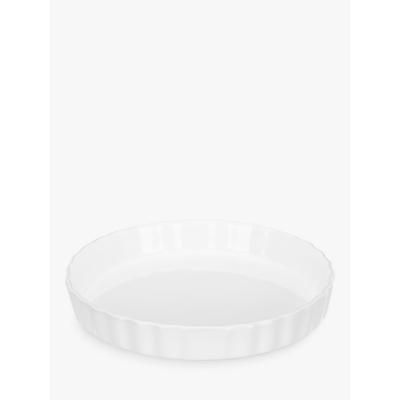 John Lewis Porcelain Flan Dish, 26cm