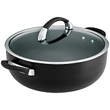 Buy Circulon Symmetry Chef's Casserole Dish, 28cm Online at johnlewis.com