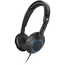 Buy Sennheiser HD221 On-Ear Headphones, Black Online at johnlewis.com