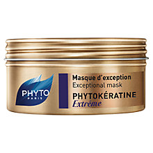 Buy Phyto Phytokeratine Extreme Hair Mask, 200ml Online at johnlewis.com