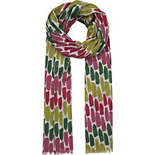 Buy Seasalt Exclusive Brushmarks Pattern Cotton Scarf, Multi Online at johnlewis.com