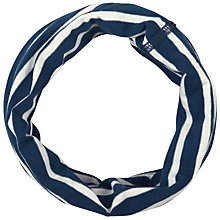 Buy Seasalt Breton Squall Handyband Snood, Navy/White Online at johnlewis.com