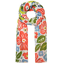 Buy Seasalt Summer Floral Salt Scarf, Multi Online at johnlewis.com