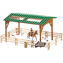 Buy Schleich Horse Riding Arena Play Set Online at johnlewis.com