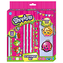 Buy Shopkin Stationery Set Online at johnlewis.com