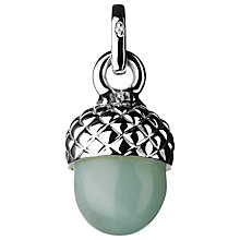 Buy Links of London Sterling Silver Love Note Acorn Charm, Silver/Amazonite Online at johnlewis.com