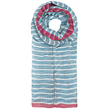 Buy Seasalt Sailing Shore Scarf, Blue Online at johnlewis.com