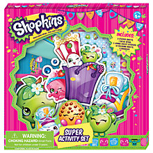 Buy Shopkins Super Activity Set Online at johnlewis.com