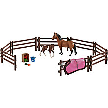 Buy Schleich Horse & Paddock Play Set Online at johnlewis.com