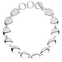 Buy Links of London Sterling Silver Grace Bracelet, Silver Online at johnlewis.com
