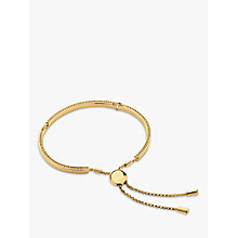Buy Links of London 18ct Yellow Gold Vermeil Narrative Bracelet, Gold Online at johnlewis.com