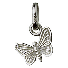 Buy Links of London Sterling Silver Butterfly Charm, Silver Online at johnlewis.com