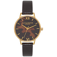 Buy Olivia Burton Women's Midi Dial Leather Strap Watch Online at johnlewis.com
