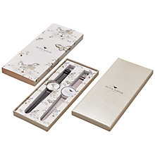 Buy Olivia Burton Women's Big Dial Leather Strap Watch Gift Set Online at johnlewis.com