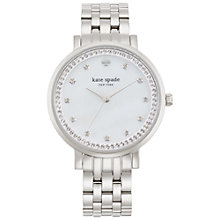 Buy kate spade new york 1YRU0820 Women's Monterey Bracelet Strap Watch, Silver Online at johnlewis.com